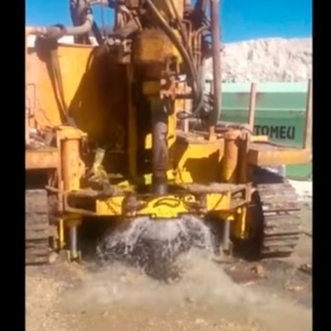 Perforación y rotura de acuífero